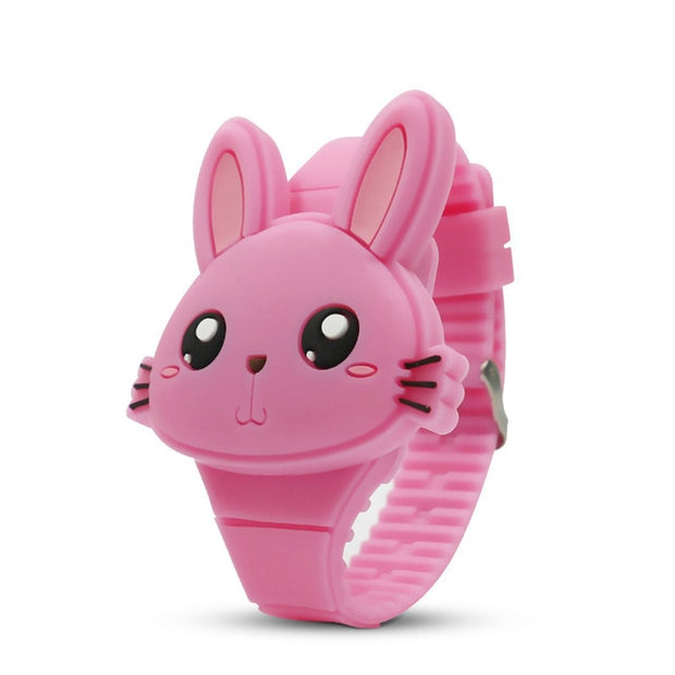 Cute Rabbit Cartoon Electronic Watch