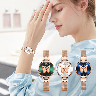 OLEVS Butterfly Fashion Waterproof Watch