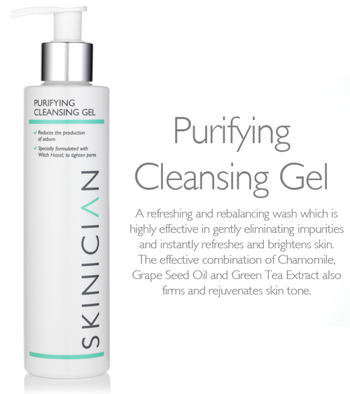 SKINICIAN PURIFYING CLEANSING GEL 200ml