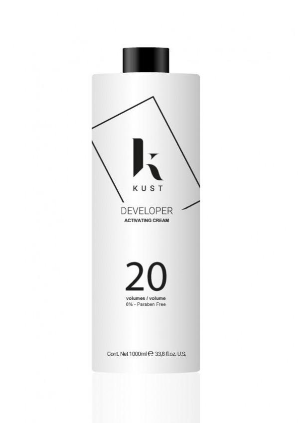 Kust Developer Ox Vol 20 1000ml - GVA hair