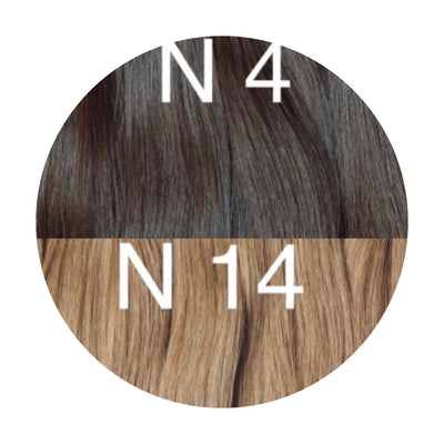 Raw Cut Hair Color _4/14 GVA hair_Gold line - GVA hair