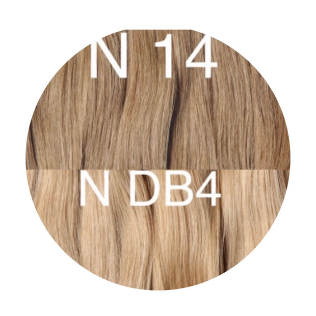 Hot Fusion Color _14/DB4 GVA hair_Gold Line - GVA hair