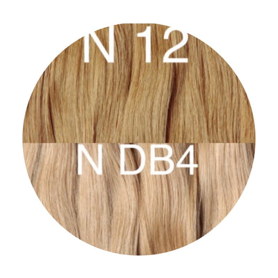 Hot Fusion Color _12/DB4 GVA hair_Gold Line - GVA hair