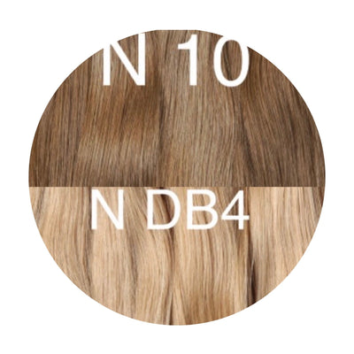 Hot Fusion Color _10/DB4 GVA hair_Gold Line - GVA hair