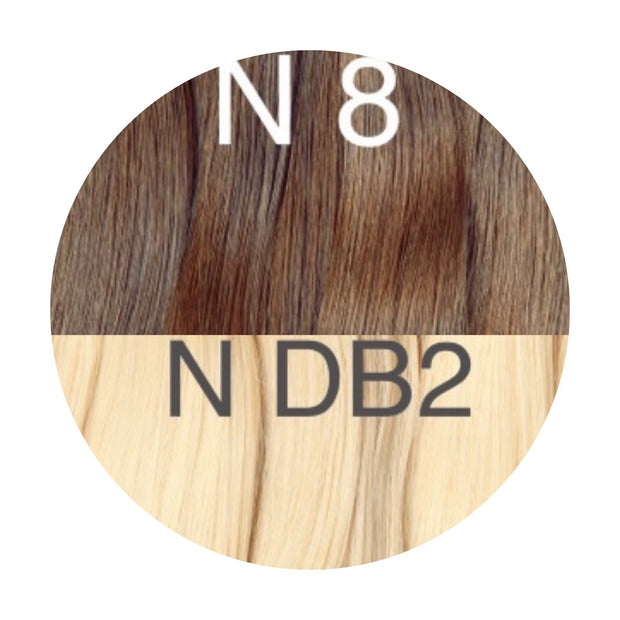 Bangs Color _8/DB2 GVA hair_Gold Line - GVA hair