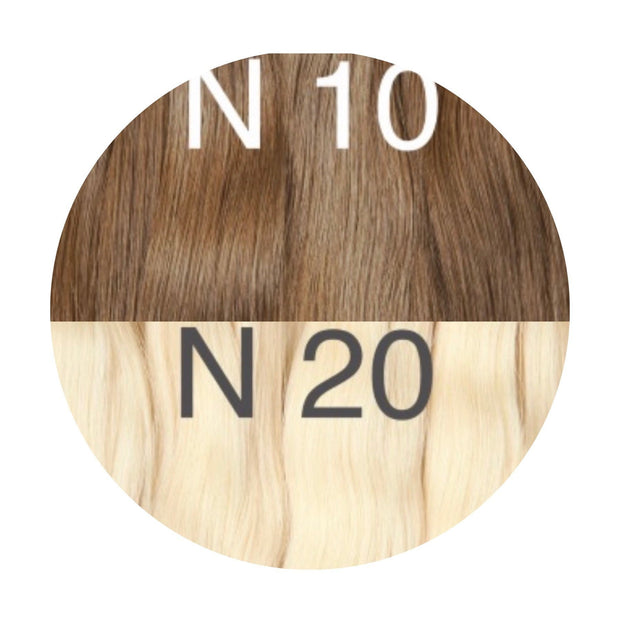 Micro links ambre 10 and 20 Color GVA hair - GVA hair