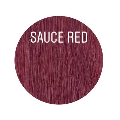Bangs Color SAUCE RED GVA hair_Gold Line - GVA hair