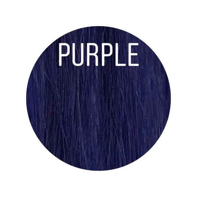 Bangs Color PURPLE GVA hair_Gold Line - GVA hair