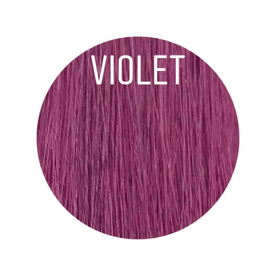 Bangs Color VIOLET GVA hair_Gold Line - GVA hair