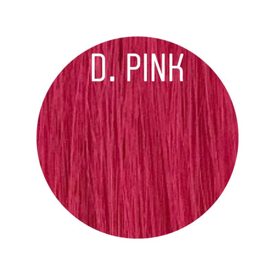 Raw Cut Hair Color D. PINK GVA hair_Gold line - GVA hair