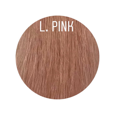 Raw Cut Hair Color L. PINK GVA hair_Gold line - GVA hair