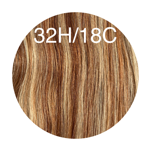 Hot Fusion Color _32H/18C GVA hair_Silver Line - GVA hair