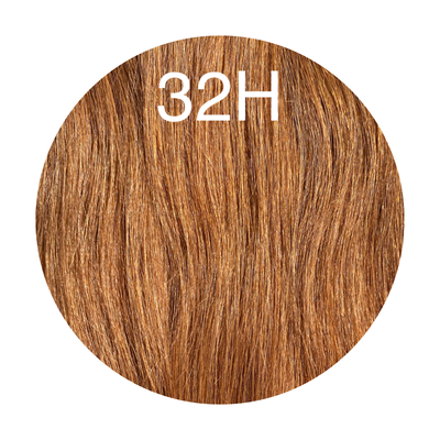 Hair Wefts Hand tied Color 32H GVA hair_Silver line - GVA hair