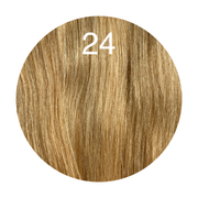 Hair Wefts Hand tied Color 24 GVA hair_Silver line - GVA hair