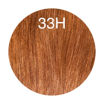 Hair Wefts Hand tied Color 33H GVA hair_Silver line - GVA hair