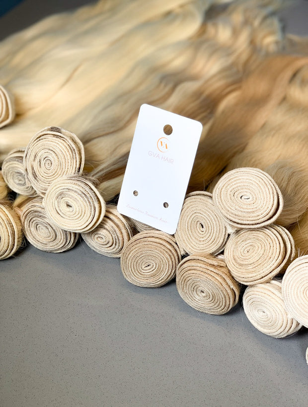 Machine Wefts Color 6C GVA hair_Silver Line - GVA hair