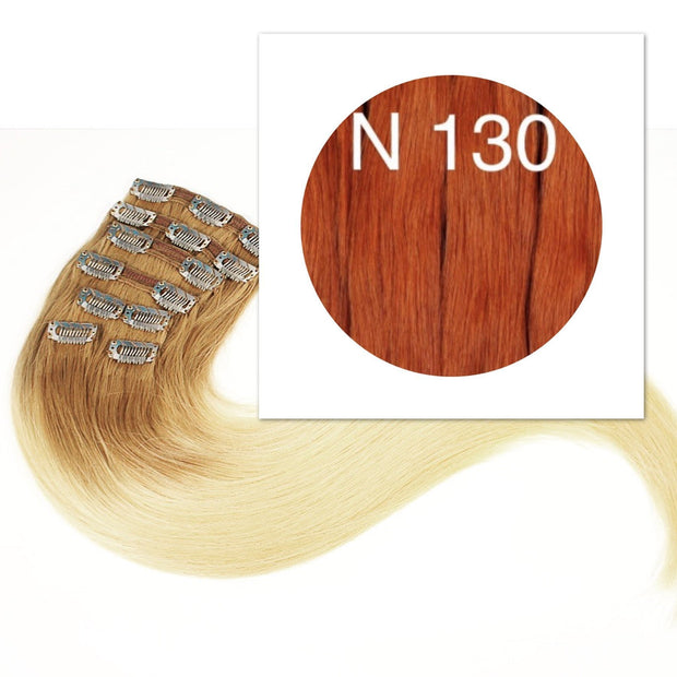 Clips  Color 130 GVA hair_Retail price - GVA hair