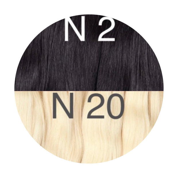 Hot Fusion ombre 2 and 20 Color GVA hair_Retail price - GVA hair