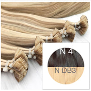 Hot Fusion ombre 4 and DB3 Color GVA hair_Retail price - GVA hair
