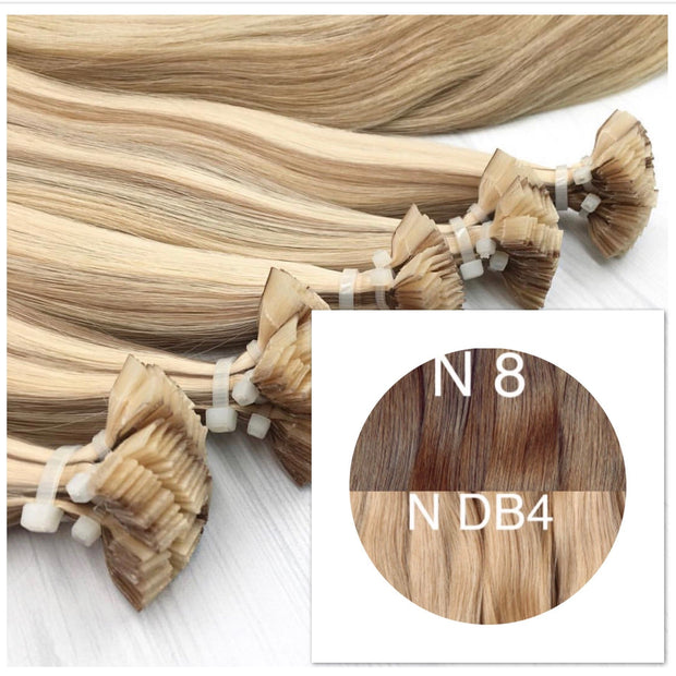 Hot Fusion ombre 8 and DB4 Color GVA hair_Retail price - GVA hair
