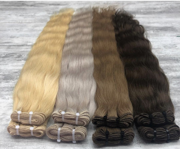 Machine Wefts Color D. PINK GVA hair_Gold Line - GVA hair