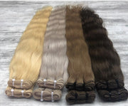Machine Wefts Color _14/DB4 GVA hair_Gold Line - GVA hair