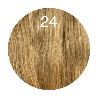 Micro links Color 24 GVA hair_Silver Line - GVA hair