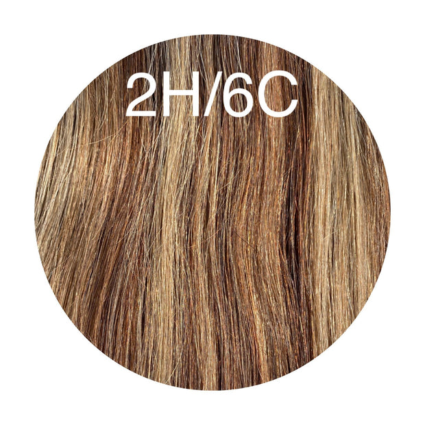 Micro links Color _2H/6C GVA hair_Silver Line - GVA hair