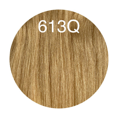 Micro links Color 613Q GVA hair_Silver Line - GVA hair