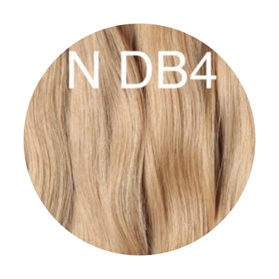Micro links Color DB4 GVA hair_Gold Line - GVA hair