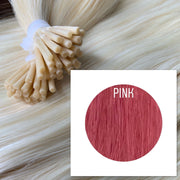 Micro links Color Pink GVA hair_Retail price - GVA hair