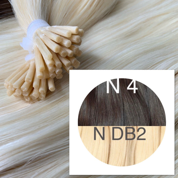 Micro links ombre 4 and DB2 Color GVA hair_Retail price - GVA hair