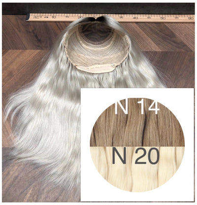 Wigs Ombre 14 and 20 Color GVA hair_Retail price - GVA hair