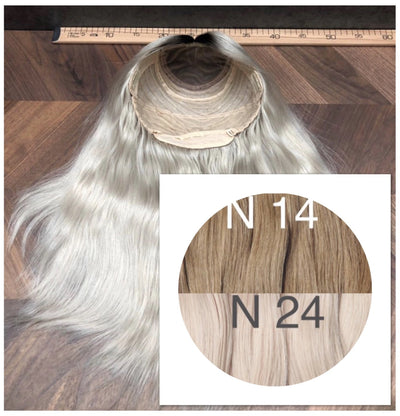 Wigs Ombre 14 and 24 Color GVA hair_Retail price - GVA hair