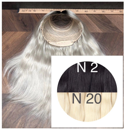Wigs Ombre 2 and 20 Color GVA hair_Retail price - GVA hair