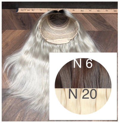Wigs Ombre 6 and 20 Color GVA hair_Retail price - GVA hair