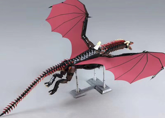 Highly Difficult Giant Dragon Assembly Model Building Blocks(Limit Discounts)