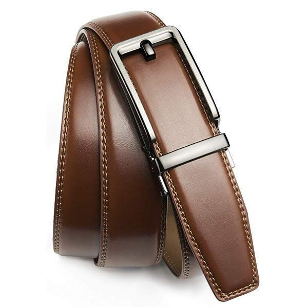 Last 24 Hours Promotion-Highly Durable Genuine Leather Ratchet belt(Only $19.99 for 2 PCS )