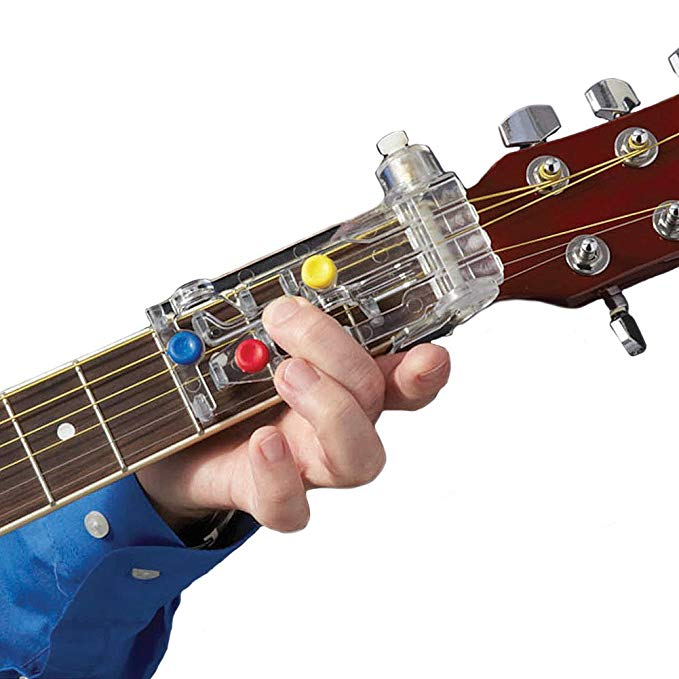 Easy-to-use guitar learning assistant