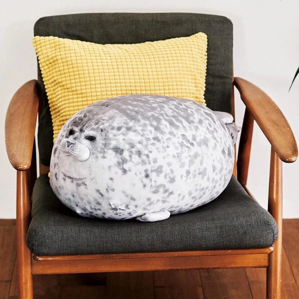 Blob Seal Pillow