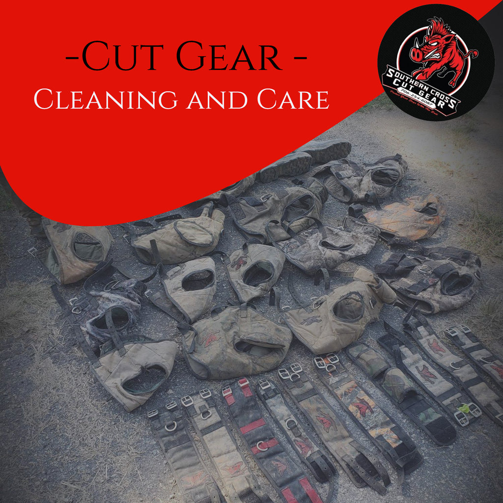 Cut Gear Cleaning and Care