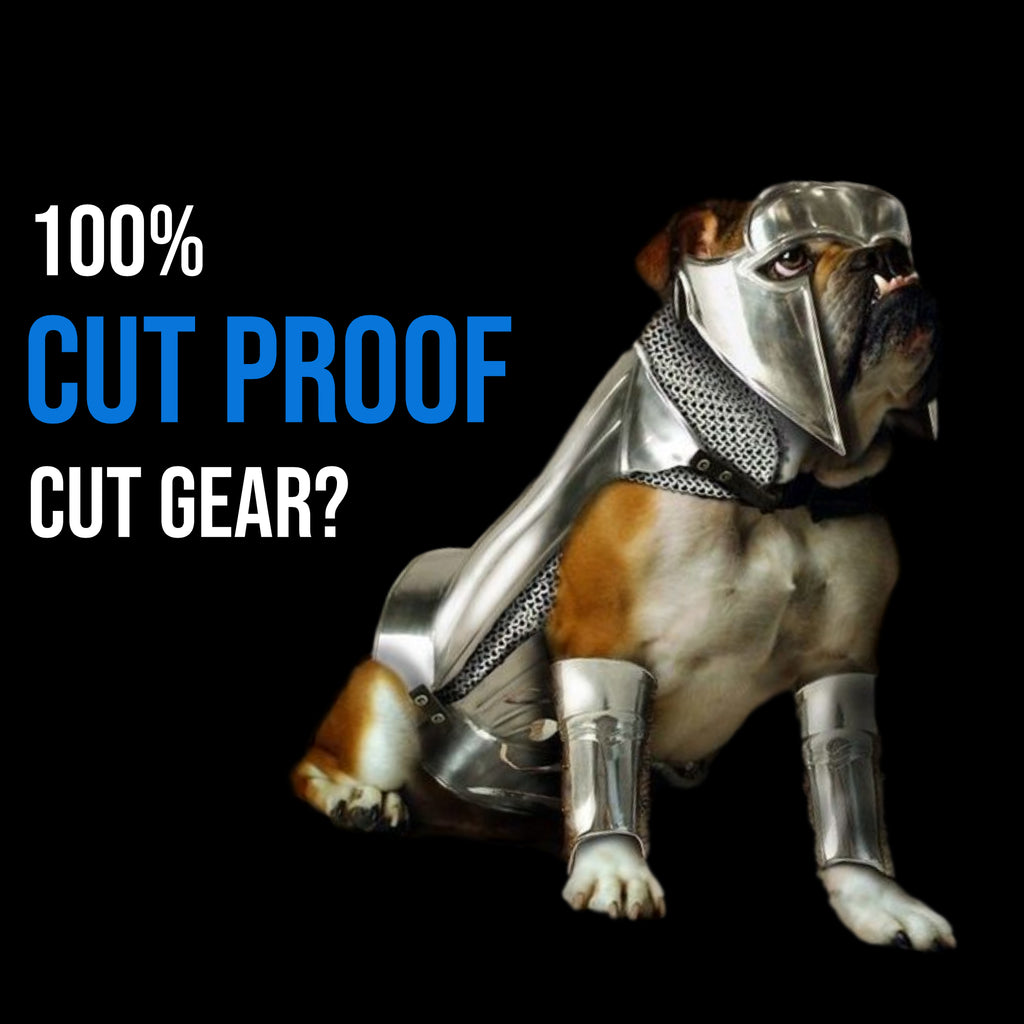 100% Cut Proof Cut Gear?