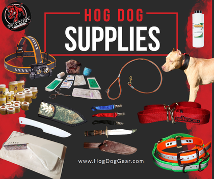Hog Dog Supplies
