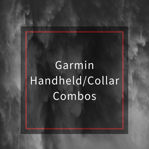 Garmin Tracking Handheld/Collar Combos