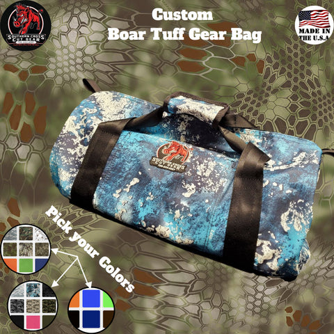 Custom Boar Tuff Gear Bag