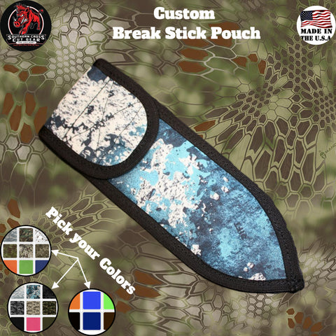 Custom Break Stick Pouch - Southern Cross Cut Gear
