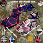 Custom Elite Catch Vest - Southern Cross Cut Gear