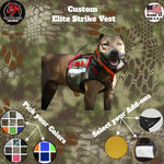 Custom Elite Strike Vest - Southern Cross Cut Gear