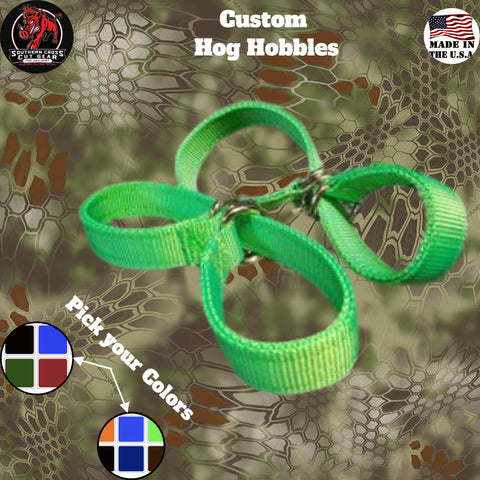 Custom Hog Hunting Hobbles - Southern Cross Cut Gear