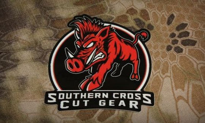 """Send 'Em"" Decal - Southern Cross Cut Gear"
